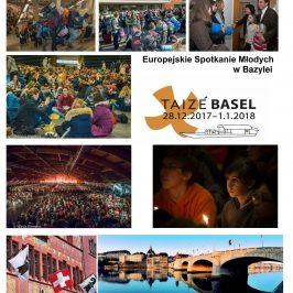Zapisy na wyjazd na Europejskie Spotkanie Młodych w Bazylei 2017