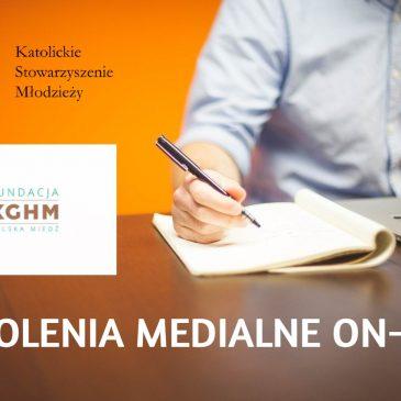 Szkolenia medialne on-line dla KSM'owiczów